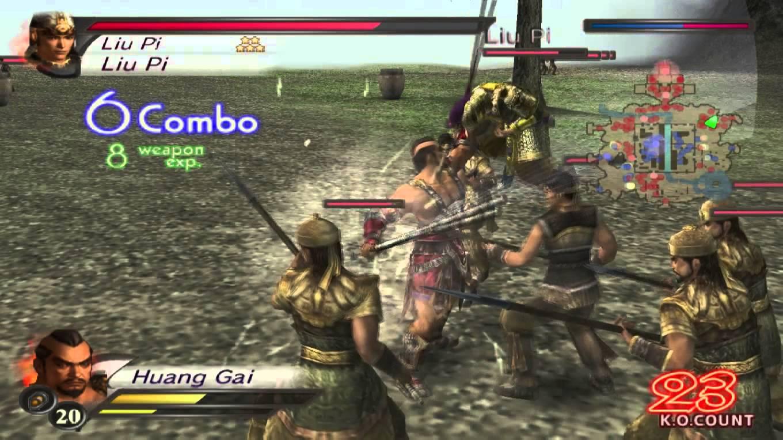 dynasty warriors 4 iso
